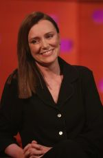 Keeley Hawes on The Graham Norton Show - London