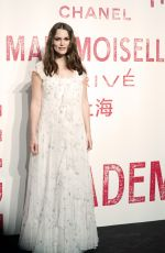 Keira Knightley Arrives for the Chanel Mademoiselle Prive exhibition in Shanghai, China