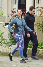 Kelly Brook Out in Primrose Hill