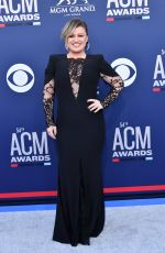 Kelly Clarkson At 54TH Academy of Country Music Awards in Las Vegas