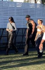 Kendall Jenner & Hailey Baldwin Bieber At the Coachella Music Festival in Indio