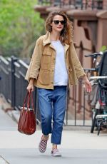 Keri Russell Out in NYC