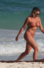 Khloe Terae Heats up the beach in Tulum