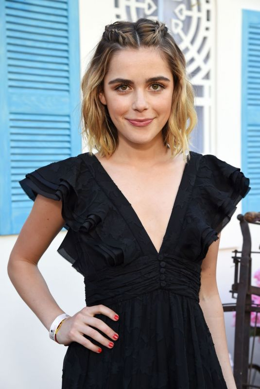 Kiernan Shipka At 5th Annual ZOEasis at Coachella Valley Music and Arts Festival in Palm Springs