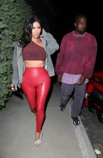 Kim Kardashian Leave Travis Scott