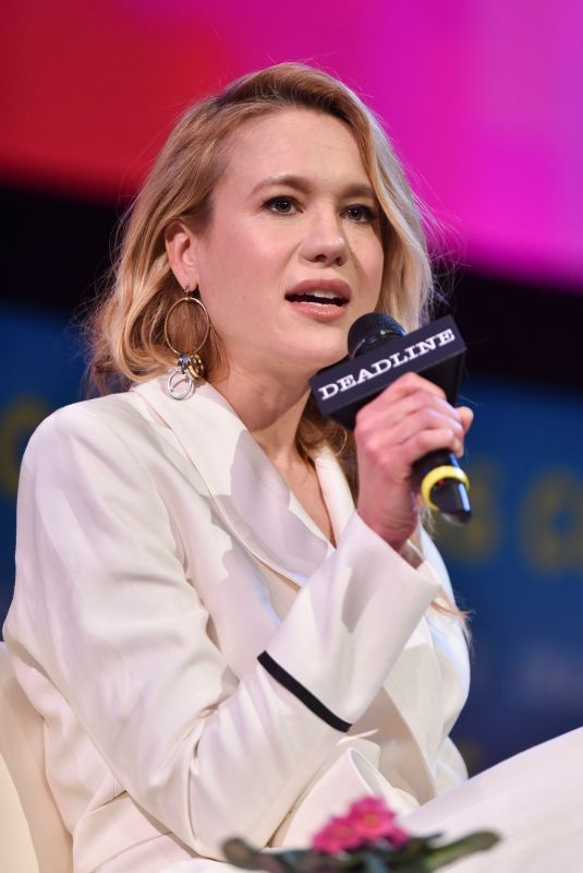 Kristen Hager At Deadline Contenders Emmy Event, Paramount Theatre, Los Angeles