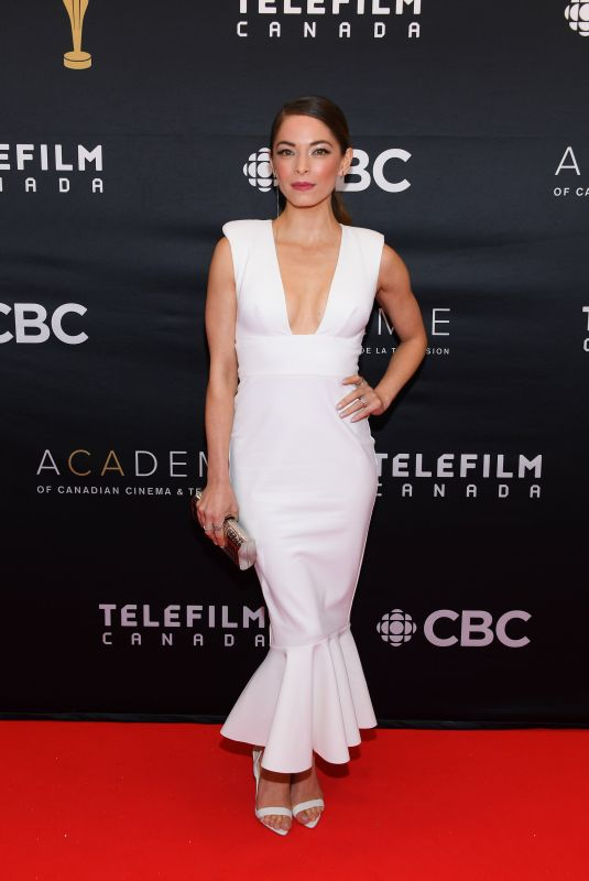 Kristin Kreuk At 2019 Canadian Screen Awards Broadcast Gala at Sony Centre for the Performing Arts in Toronto