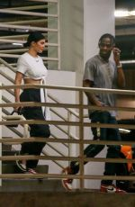 Kylie Jenner and Travis Scott go for some night shopping in Beverly Hills