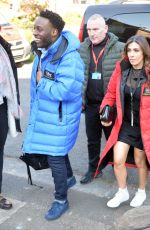 Kym Marsh Filming Coronation Street Scenes in Manchester