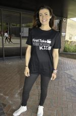 Kym Marsh In Manchester at The Sharp Project