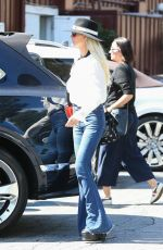 Laeticia Hallyday Shops at Brentwood Country Mart