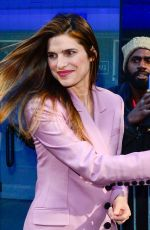 Lake Bell At Good Morning America in New York