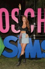 Larsen Thompson At Moschino x The Sims Party at Coachella in Indio