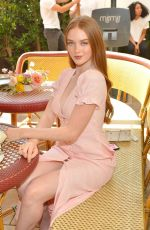 Larsen Thompson Joins Talita von Furstenberg in celebrating her first collection for DVF in Hollywood