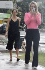 Laura Byrne and Florence get breakfast together in Bondi