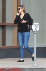 Lauren Cohan Out in Westwood