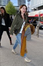 Lena Headey Out and about, London