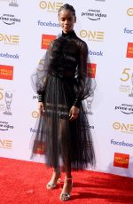 Letitia Wright At 50th Annual NAACP Image Awards, Dolby Theatre, Los Angeles