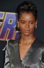 Letitia Wright At World Premiere of Marvel Studios