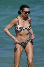 Lilly Becker Shows off her bikini body on the beach in Miami