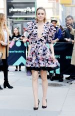 Lily Collins At AOL Build in NYC