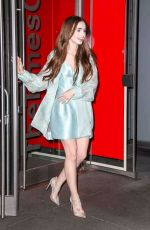 Lily Collins Heads to the