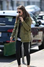 Lily Collins Out Shopping in Beverly Hills