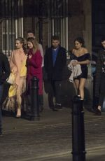Lily James Celebrates her 30th birthday in London