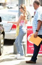 Lily-Rose Depp Out doing errands in Los Angeles