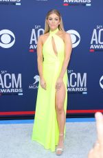 Lindsay Ell At 54th Academy of Country Music Awards at MGM Grand Garden Arena in Las Vegas