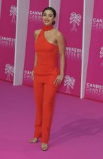 Lindsey Morgan At 2nd Canneseries International Series Festival Opening Ceremony in Cannes