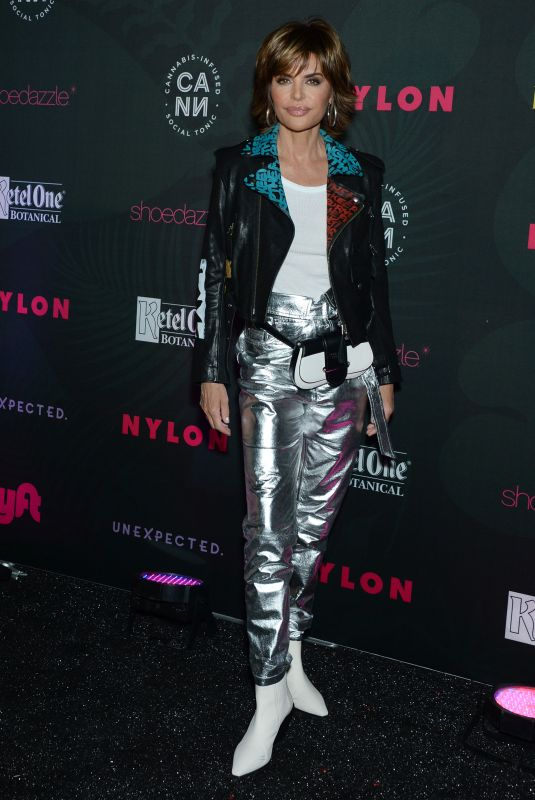Lisa Rinna At NYLON Midnight Garden Party, Private Residence
