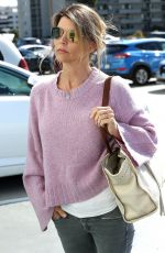 Lori Loughlin Heads to a office building in Santa Monica
