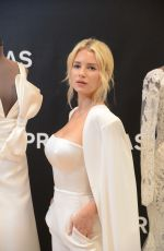 Lottie Moss At Pronovias Event during the Barcelona Bridal Week