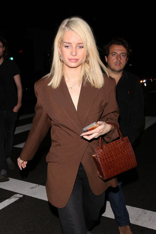 Lottie Moss Out in West Hollywood