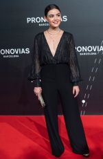 Lucy Hale At Pronovias show during Valmont Barcelona Bridal Fashion Week in Barcelona