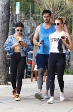 Lucy Hale At the gym in LA