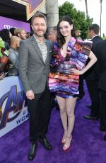 Lydia Hearst At World Premiere of Marvel Studios