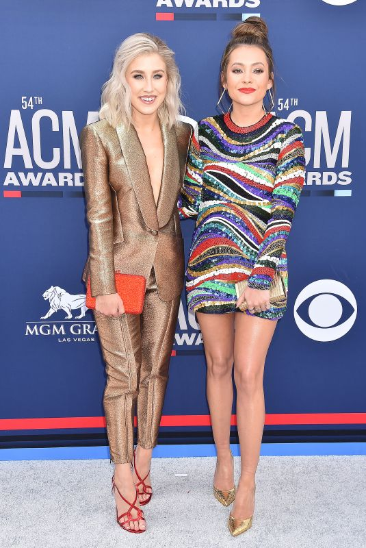 Maddie & Tae At 54th Academy of Country Music Awards at MGM Grand Garden Arena in Las Vegas