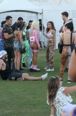 Madison Beer Having fun at Coachella with friends