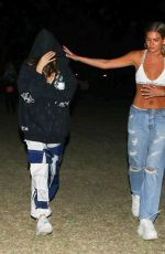 Madison Beer Keeps a low profile at Coachella in Indio