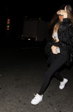 Madison Beer Leaving Delilah in West Hollywood