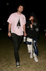 Madison Beer Out with a friend at Coachella in Indio