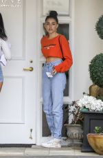Madison Beer Visits Epione Clinic in Beverly Hills with Cindy