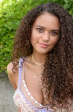 Madison Pettis At Revolve Party at Coachella Valley Music and Arts Festival in Indio