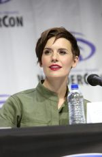 Maggie Grace At Fear The Walking Dead Panel at WonderCon in Anaheim