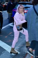Maisie Williams Leaving Good Morning America in New York City