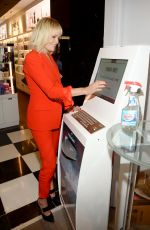 Malin Akerman At Unveils New Windex at Bloomingdale