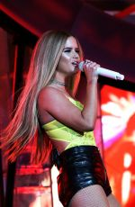 Maren Morris Performs at the 2019 Coachella Valley Music and arts festival in Indio