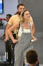 Margot Robbie At Miami airport